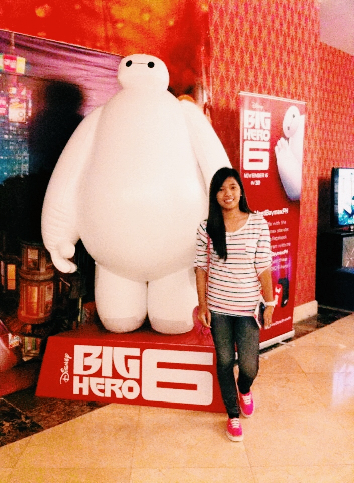 with my Big Hero Baymax  and my personal healthcare companion :)
